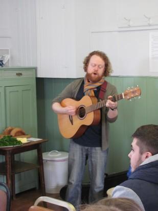 Steve Byrne singing