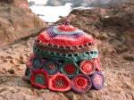 Multicolourd beanie - small
